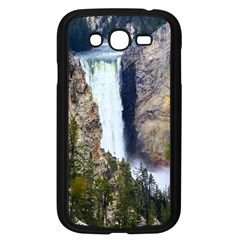 Yellowstone Waterfall Samsung Galaxy Grand Duos I9082 Case (black) by trendistuff