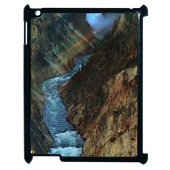 Yellowstone Lower Falls Apple Ipad 2 Case (black) by trendistuff