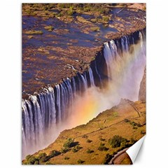 Waterfall Africa Zambia Canvas 12  X 16   by trendistuff