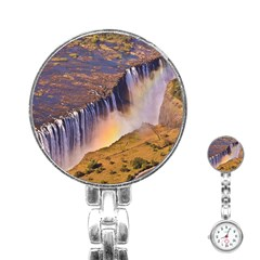Waterfall Africa Zambia Stainless Steel Nurses Watches by trendistuff