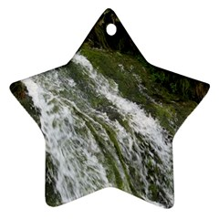 Water Overflow Star Ornament (two Sides)  by trendistuff