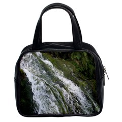 Water Overflow Classic Handbags (2 Sides) by trendistuff