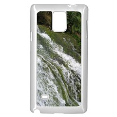Water Overflow Samsung Galaxy Note 4 Case (white) by trendistuff