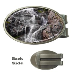 Mountain Waterfall Money Clips (oval)