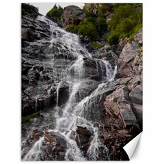 Mountain Waterfall Canvas 12  X 16   by trendistuff