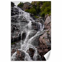 Mountain Waterfall Canvas 24  X 36  by trendistuff