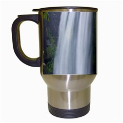 Hopetoun Falls Travel Mugs (white) by trendistuff