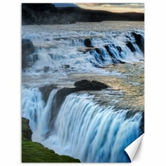 Gullfoss Waterfalls 2 Canvas 12  X 16   by trendistuff