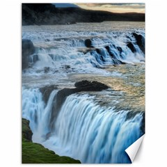 Gullfoss Waterfalls 2 Canvas 18  X 24   by trendistuff