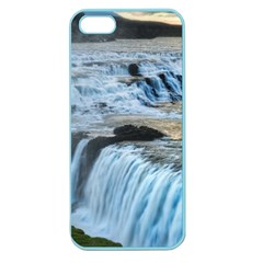 Gullfoss Waterfalls 2 Apple Seamless Iphone 5 Case (color) by trendistuff