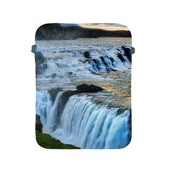 Gullfoss Waterfalls 2 Apple Ipad 2/3/4 Protective Soft Cases by trendistuff