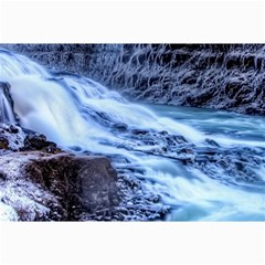 Gullfoss Waterfalls 1 Collage 12  X 18