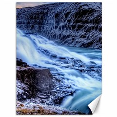 Gullfoss Waterfalls 1 Canvas 36  X 48   by trendistuff
