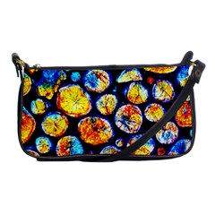 Woodpile Abstract Shoulder Clutch Bags