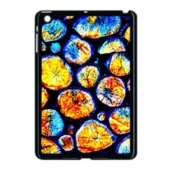 Woodpile Abstract Apple Ipad Mini Case (black) by Costasonlineshop