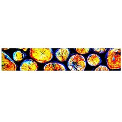 Woodpile Abstract Flano Scarf (large)  by Costasonlineshop
