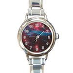 VELA SUPERNOVA Round Italian Charm Watches Front