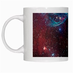 Vela Supernova White Mugs