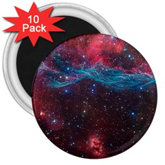 Vela Supernova 3  Magnets (10 Pack)
