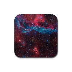 Vela Supernova Rubber Square Coaster (4 Pack)