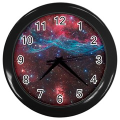 Vela Supernova Wall Clocks (black)