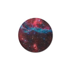 Vela Supernova Golf Ball Marker
