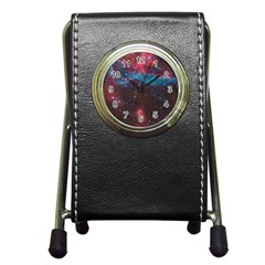Vela Supernova Pen Holder Desk Clocks