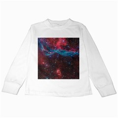 Vela Supernova Kids Long Sleeve T Shirts