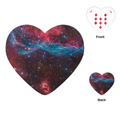 Vela Supernova Playing Cards (heart)