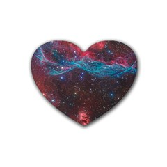 Vela Supernova Rubber Coaster (heart)