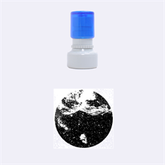 Vela Supernova Rubber Round Stamps (small)