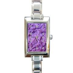 Purple Wall Background Rectangle Italian Charm Watches