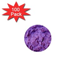 Purple Wall Background 1  Mini Buttons (100 Pack)  by Costasonlineshop