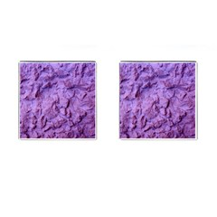 Purple Wall Background Cufflinks (square)
