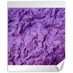 Purple Wall Background Canvas 16  X 20   by Costasonlineshop