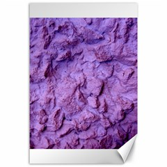 Purple Wall Background Canvas 24  X 36