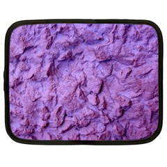Purple Wall Background Netbook Case (large) by Costasonlineshop