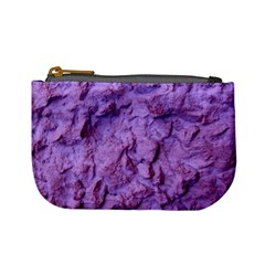 Purple Wall Background Mini Coin Purses by Costasonlineshop