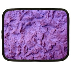 Purple Wall Background Netbook Case (xl)  by Costasonlineshop