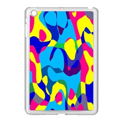 Colorful Chaos			apple Ipad Mini Case (white) by LalyLauraFLM