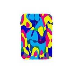 Colorful Chaos			apple Ipad Mini Protective Soft Case by LalyLauraFLM