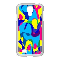 Colorful Chaos			samsung Galaxy S4 I9500/ I9505 Case (white)