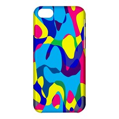 Colorful Chaos			apple Iphone 5c Hardshell Case by LalyLauraFLM
