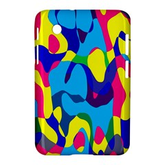 Colorful Chaos			samsung Galaxy Tab 2 (7 ) P3100 Hardshell Case by LalyLauraFLM