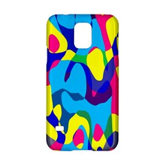 Colorful Chaos			samsung Galaxy S5 Hardshell Case by LalyLauraFLM