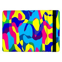 Colorful Chaos			samsung Galaxy Tab Pro 12 2  Flip Case by LalyLauraFLM