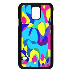 Colorful Chaos			samsung Galaxy S5 Case (black) by LalyLauraFLM