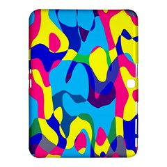 Colorful Chaos			samsung Galaxy Tab 4 (10 1 ) Hardshell Case by LalyLauraFLM