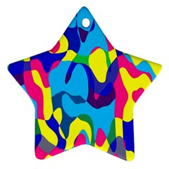 Colorful Chaos			ornament (star) by LalyLauraFLM
