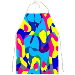 Colorful Chaos			full Print Apron by LalyLauraFLM